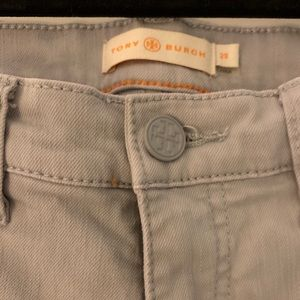 Tory Burch Jeans - Tory Burch Grey Cropped Jeans